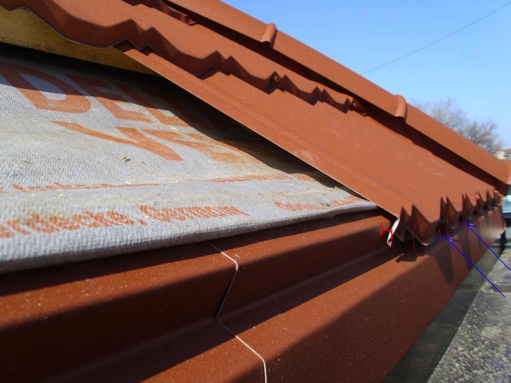 Zapada risc pentru acoperis